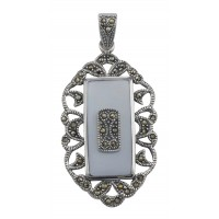 Antique Style Silver Pendants