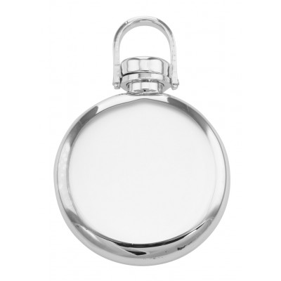 Sterling Engravable Round Perfume Bottle Pendant - Made in USA