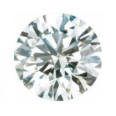 LAB CREATED DIAMOND - 3MM ROUND F COLOR VS CUT.